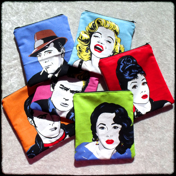 Make-Up Bags - Movie Icons