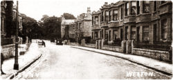 Tennyson Road, early 1900's.