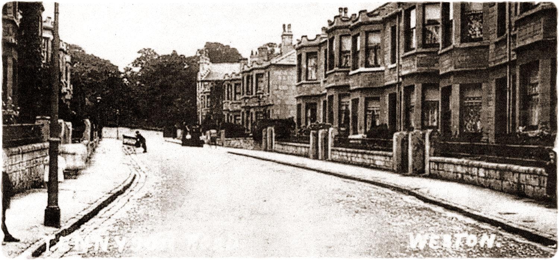 Tennyson Road, early 1900's.